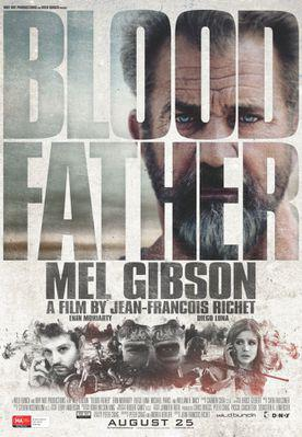Blood Father - Poster Austalie
