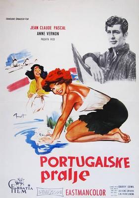Las Lavanderas de Portugal - Affiche Yougoslavie