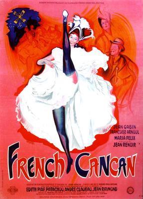 フレンチ・カンカン - Poster France