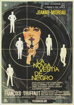 La Novia vestía de negro - Poster Espagne