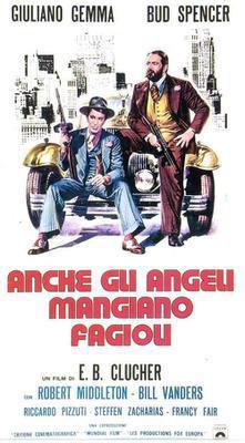 Les Anges mangent aussi des fayots - Poster - Italy