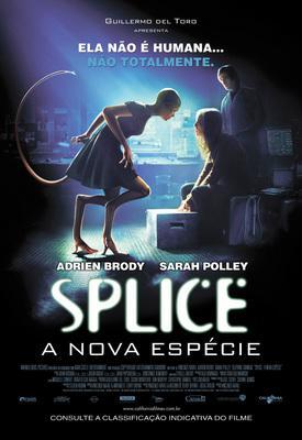 Splice - Poster - Brazil - © California Filmes