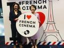 Fumiko Hayashi, mayor of Yokohama, talks to Coralie Fargeat