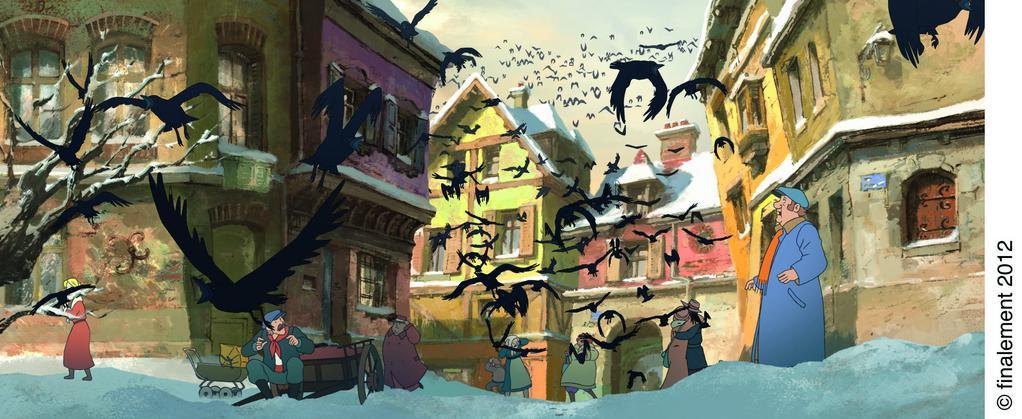 Le Jour des corneilles - © Finalement 2012