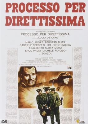 Processo per diritissima - Jaquette DVD - Italie