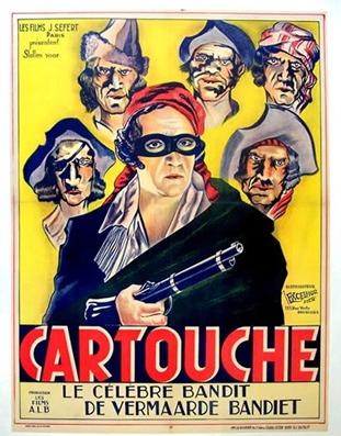 Cartouche - Poster Belgique