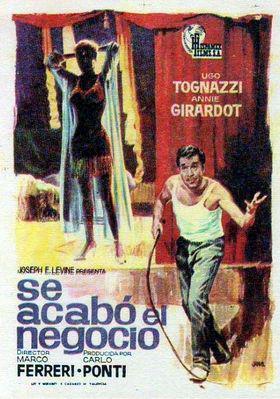Se acabó el negocio - Poster Espagne