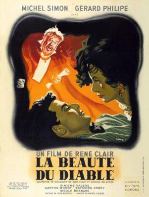 Beauty and the devil - Poster France