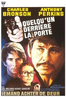 Someone Behind the Door - Poster Belgique