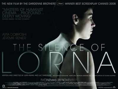 Le Silence de Lorna - Poster UK
