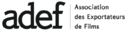 ADEF - Association des Exportateurs de Films