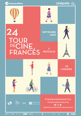 Tour de Cine Francés en México - 2020