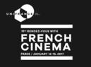 Rendez-vous du cinéma français (Encuentro de cine francés) - Paris - 2017
