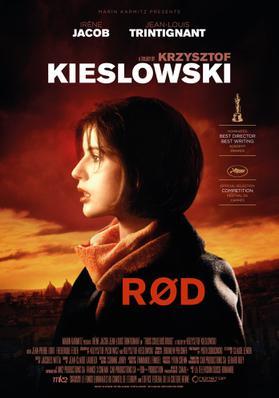トリコロール/赤の愛 - Poster - Denmark