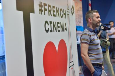 24 de junio, 4° día del Festival - Rencontre avec Xavier Legrand après la projection de Jusqu'à la garde