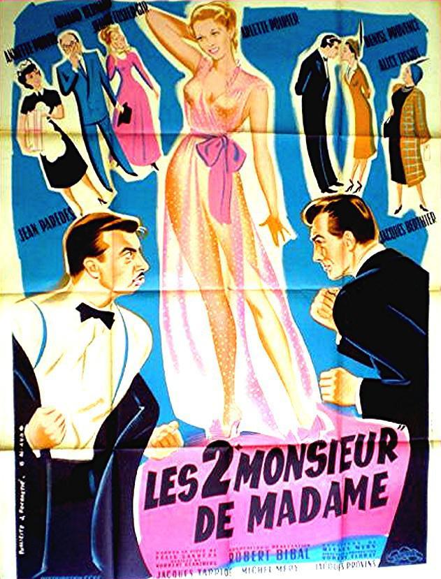 """Les Deux """"Monsieur"""" de Madame"""