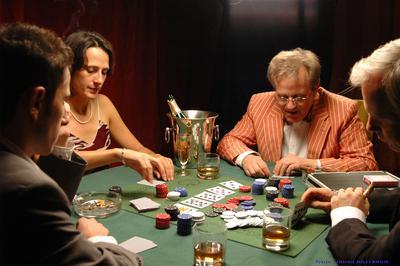 Partie de poker - © Olivier Millerioux