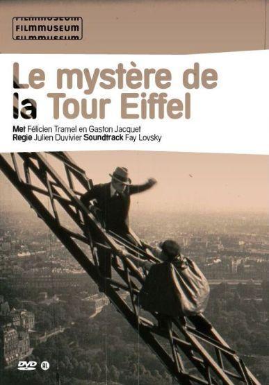 Le Mystère de la Tour Eiffel - Jaquette DVD France