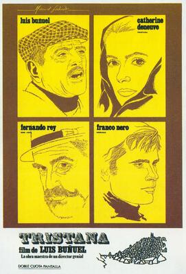 哀しみのトリスターナ - Poster Espagne