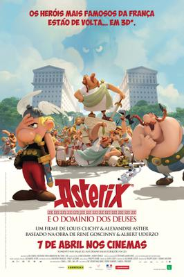 Asterix - The Mansion of the Gods - Poster - Brazil