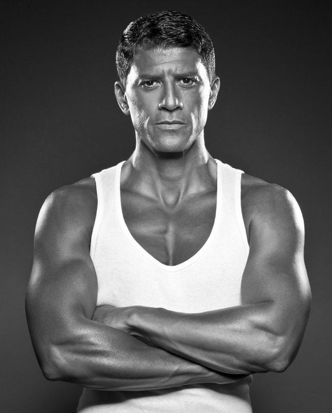 Actor and former boxer Said Tafmaoui