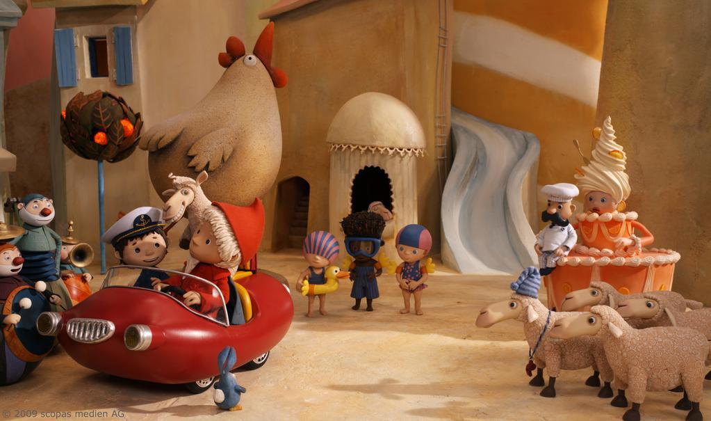 Sandman, and the Lost Sand Of Dreams - © 2010 Scopas Medias Ag