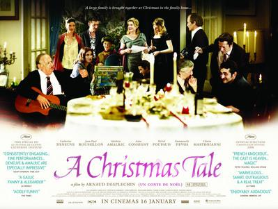 A Christmas Tale - Poster - UK