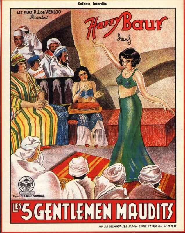 The Five Accursed Gentlemen / Moon Over Morocco