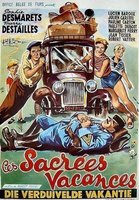 Ces sacrées vacances - Poster Belgique