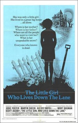 La Petite Fille au bout du chemin - Poster Etats-Unis