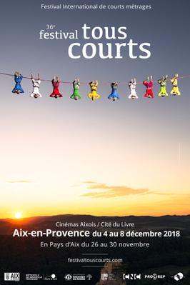 Festival Tous Courts d'Aix-en-Provence - 2018