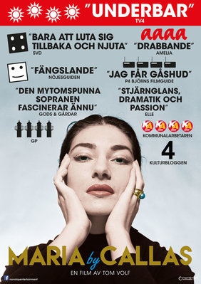 Maria by Callas - Poster - Sweden