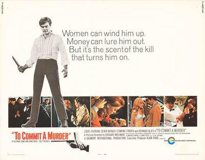 To Commit a Murder - Affiche anglaise