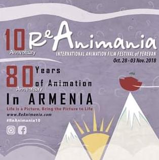 Festival Internacional de Animación de Erevan (ReAnimania) - 2018