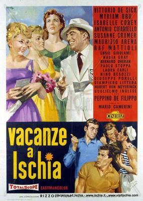 Vacances à Ischia - Poster - Italie