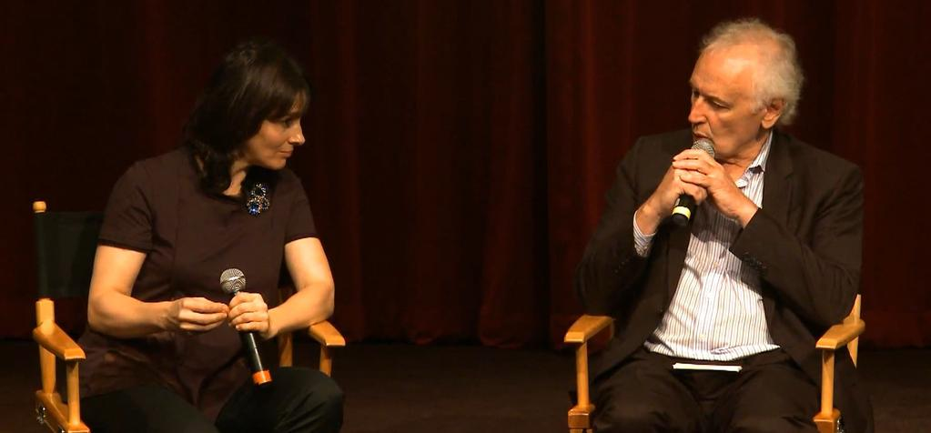 On set with french cinema - Master Class with Juliette Binoche