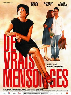 De vrais mensonges - Poster - France