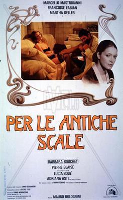 Por las antiguas escaleras  - Poster - Italy