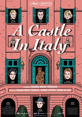 A Castle in Italy - Poster - Australia