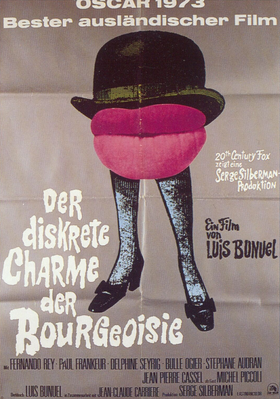 The Discreet Charm of the Bourgeoisie - Poster Allemagne