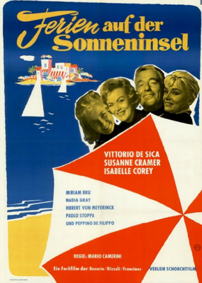Holiday Island - Poster - Allemagne