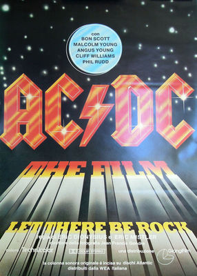 AC/DC the Film : Let There Be Rock - Italy