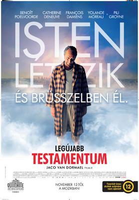 Le Tout Nouveau Testament - Poster - Hungary