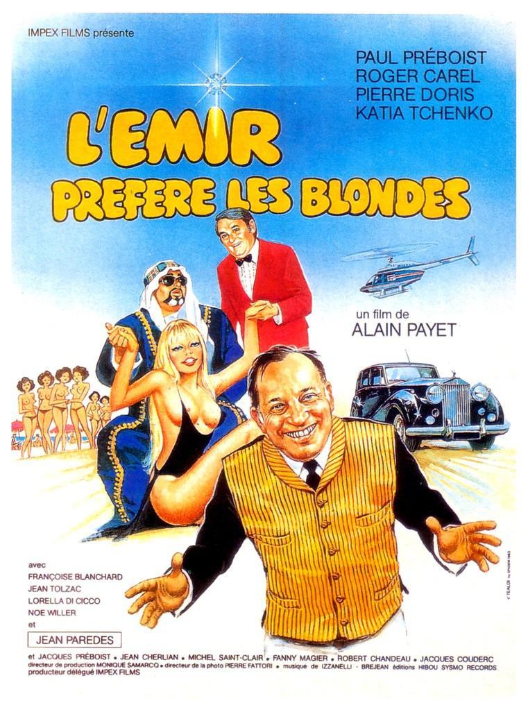 L'Emir préfère les blondes
