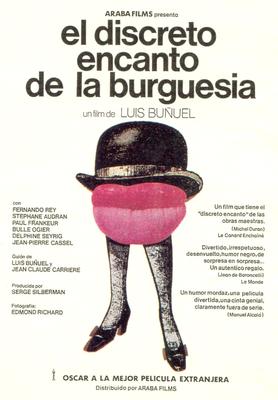 El Discreto encanto de la burguesía - Poster Espagne