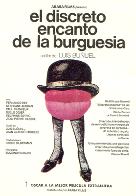 The Discreet Charm of the Bourgeoisie - Poster Espagne