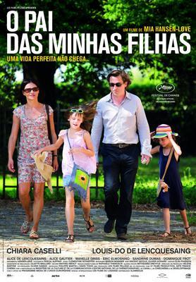 Père de mes enfants - Affiche Portugal