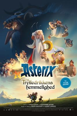 Astérix: The Secret of the Magic Potion - Poster - Denmark
