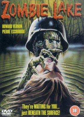 El Lago de los muertos vivientes - Jaquette DVD UK