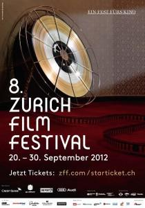 Festival Internacional de cine de Zurich  - 2012